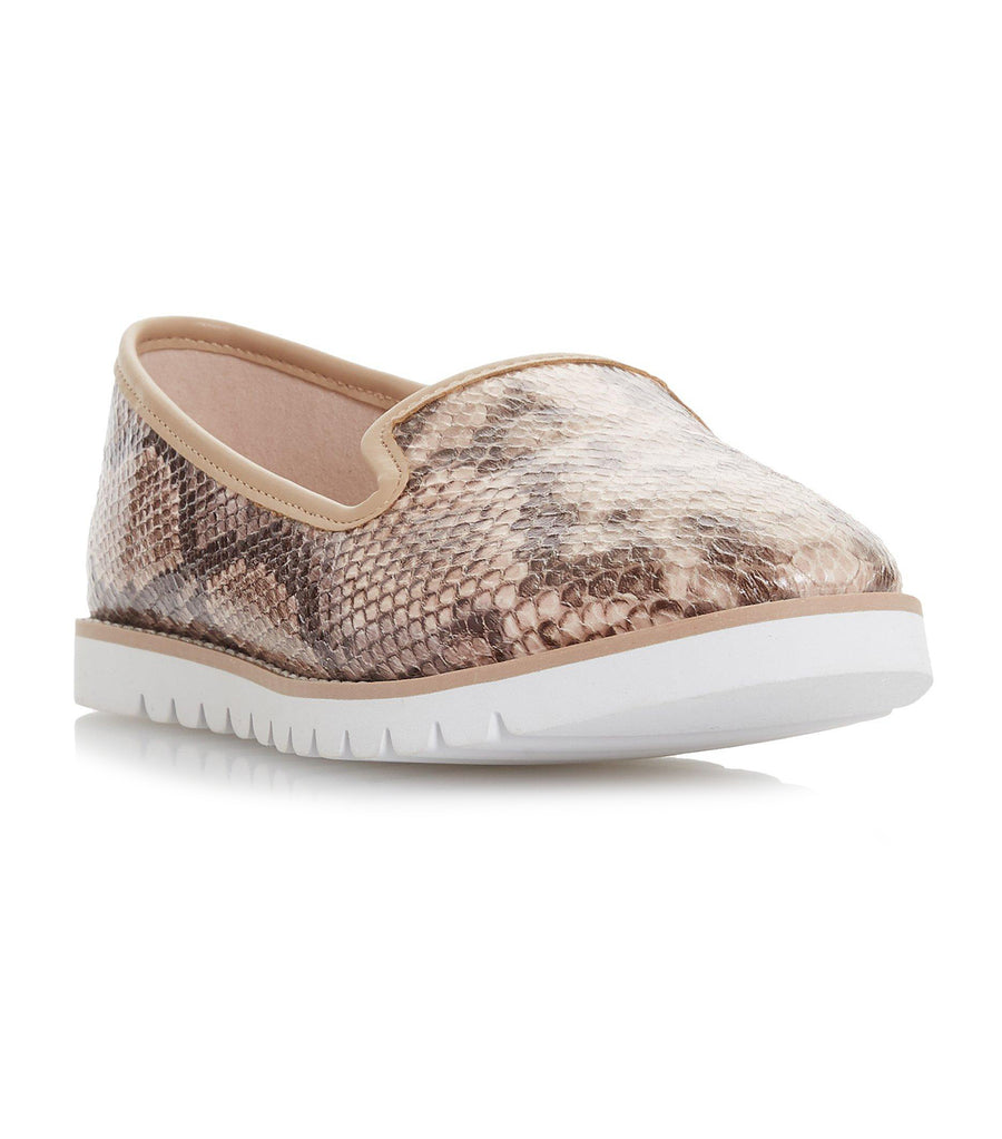 Galleon Printed Sport Loafer Natural