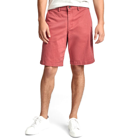 "10"" Essential Khaki Short with GapFlex Earthenware Red"