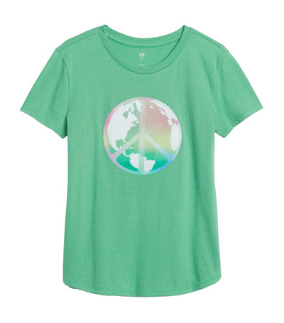 Kids Interactive Graphic T-Shirt Bright Meadow