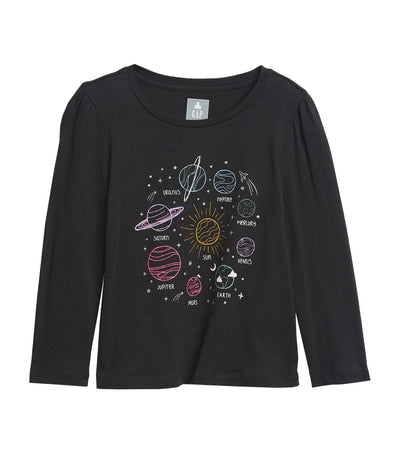 gap kids toddler mix and match graphic t-shirt - navy planet