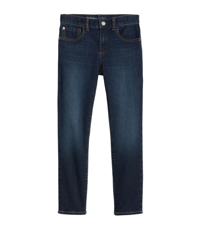 gap kids slim jeans with stretch - dark wash