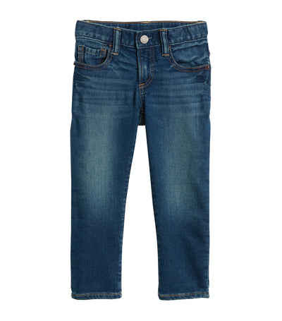 gap kids toddler slim jeans with stretch - medium wash