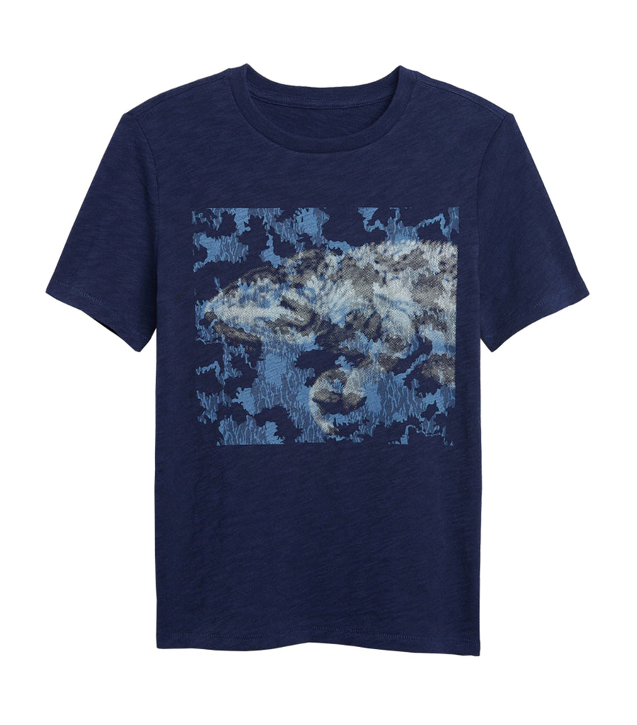 gap kids military blue kids tentacle graphic t-shirt