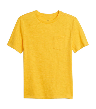 Kids Organic Pocket T-Shirt - Radiance