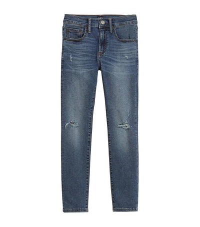 Kids Skinny Jeans with Stretch - Medium Wash