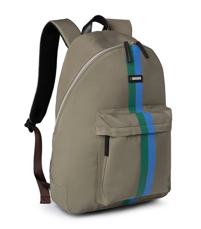 hackett ledbury backpack fawn green