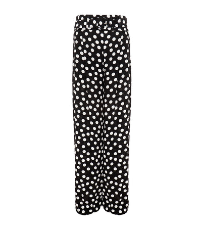 pedro del hierro polka dot high waist pants