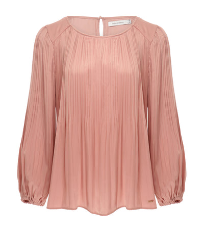 pedro del hierro pleated blouse