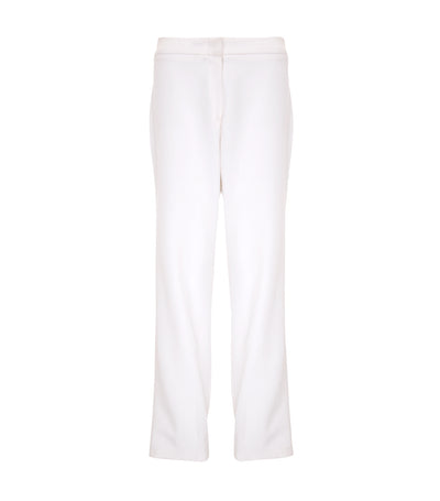 oleg cassini hyacinth straight pants white