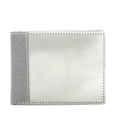 stewart/stand rfid blocking billfold wallet silver