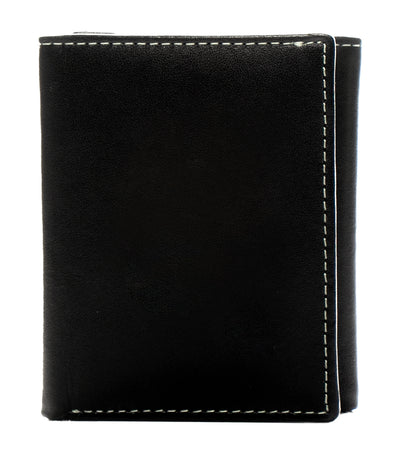 stewart/stand rfid blocking trifold wallet black leather
