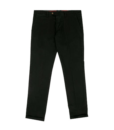 Brasil Cuffed Trousers Black