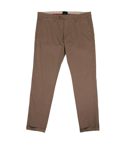 Brasil Cuffed Trousers Brown