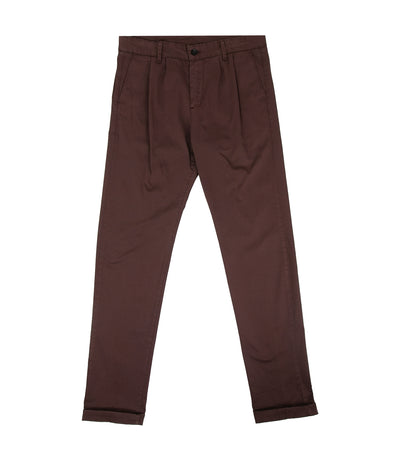 Vanilla Pleated Trousers Dark Purple