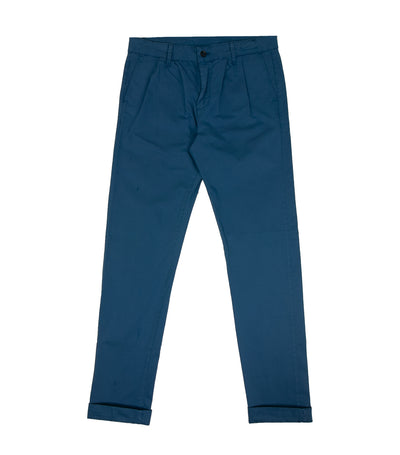 Vanilla Pleated Trousers Blue