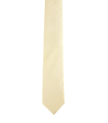 the tie bar grosgrain solid butter yellow
