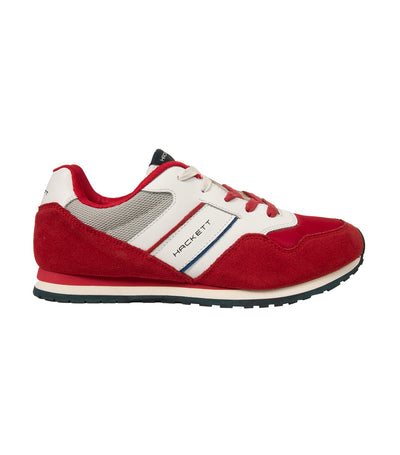 hackett pro team runner trainers red