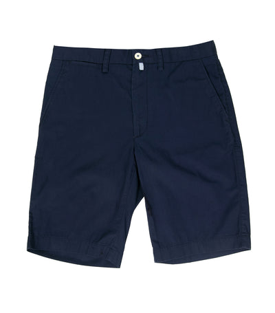 Pima Cotton Shorts Marine Blue