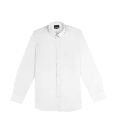 ricardo preto pasteur long-sleeved dress shirt white