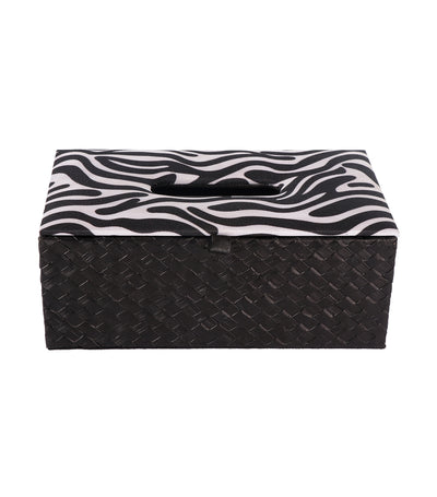 rustan's filipiniana our very own black banig zebra tissue box
