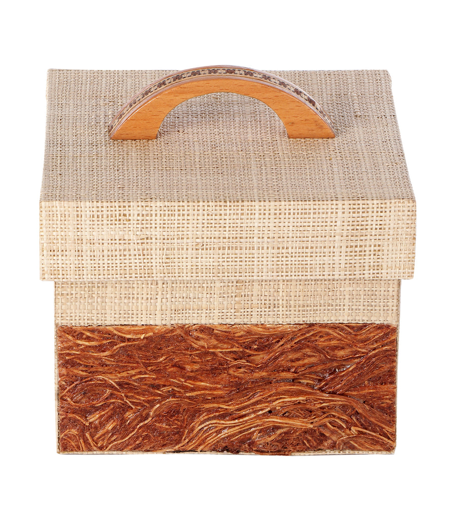 rustan's filipiniana our very own large gugo/raffia utility box