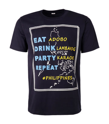 rustan's filipiniana our very own eat adobo t-shirt