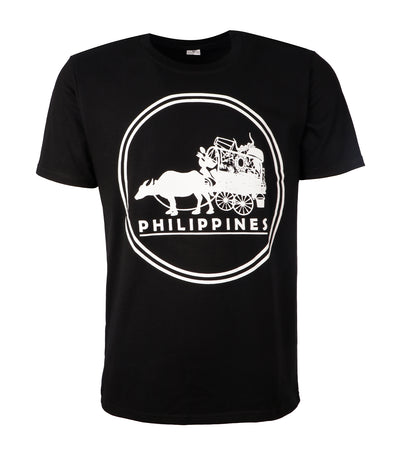 rustan's filipiniana our very own carabao black t-shirt