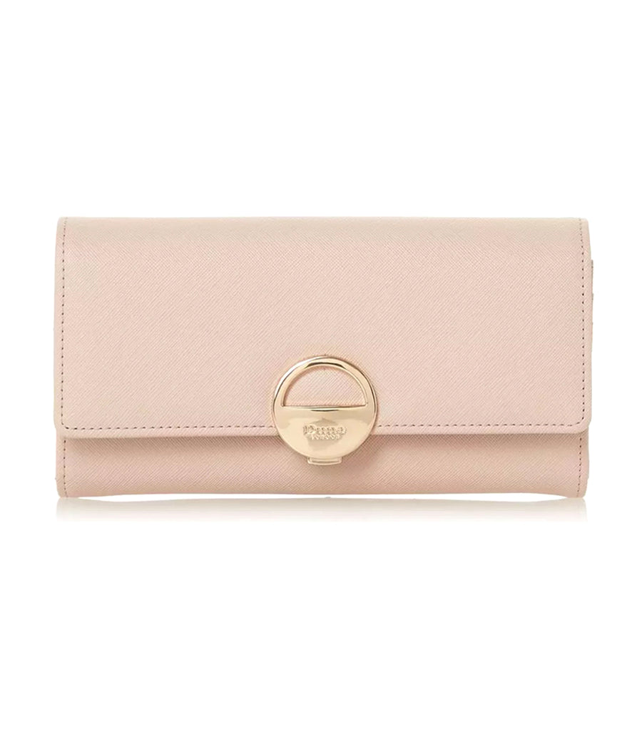 Kamine Large Flapover Purse Blush