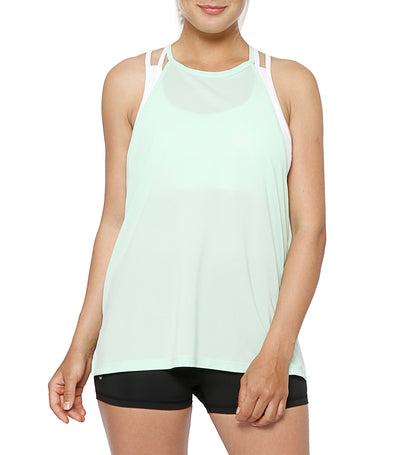 atsui kaze layer tank mint green