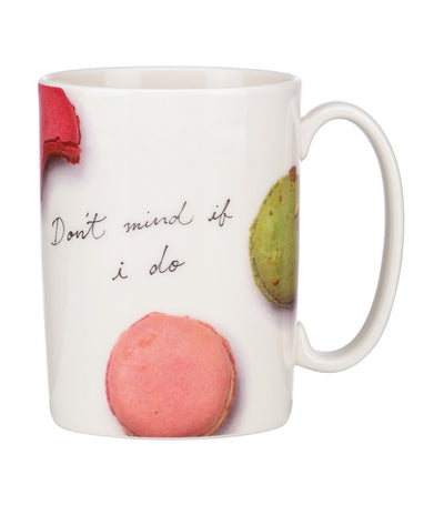 kate spade new york snap happy macarons mug