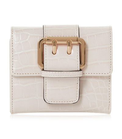 Kucklie Small Buckle Purse Nude