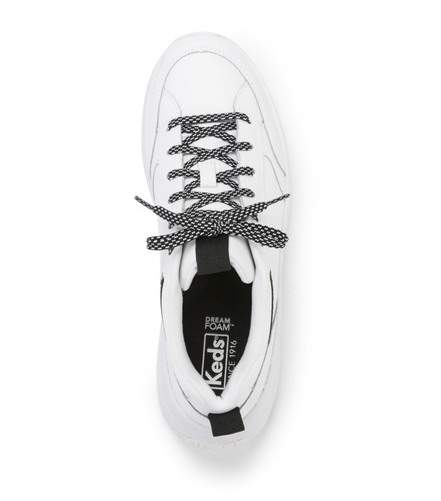 K-89 Leather Sneaker White Black