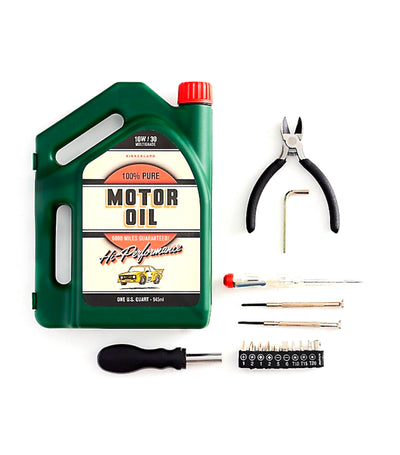 kikkerland oil jug tool kit