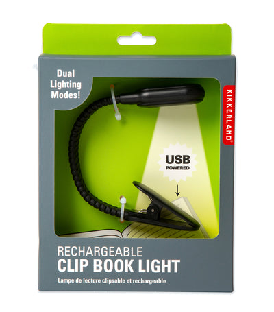 Rechargeable Book Light Black