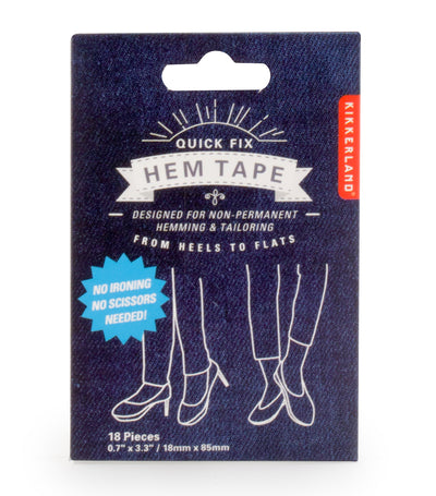 Kikkerland Quick Fix Hem Tape