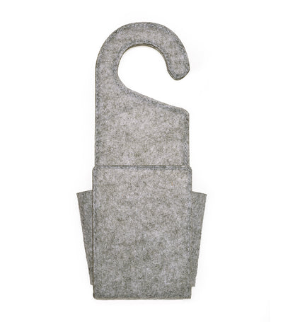 Felt Doorknob Pocket Gray
