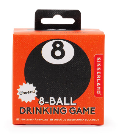 Kikkerland 8-Ball Drinking Game