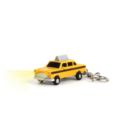 Yellow Taxi LED Keychain