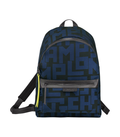 Le Pliage LGP Backpack M Black and Navy