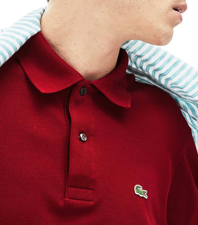 Classic Fit L.12.12 Polo Shirt Maroon