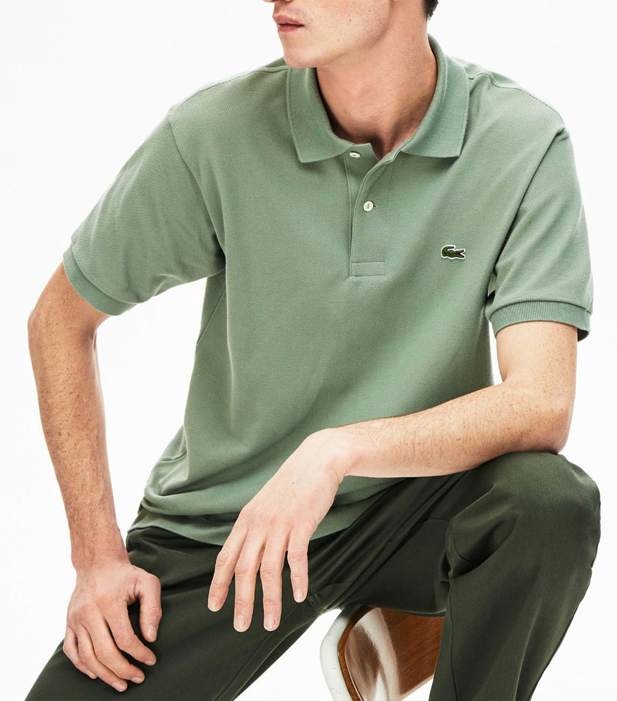 Classic Fit L.12.12 Polo Shirt Green S86