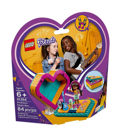 lego® friends andrea's heart box