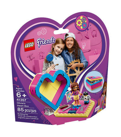 lego® friends olivia's heart box