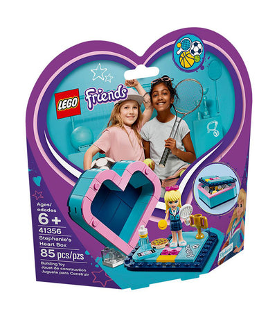 lego® friends stephanie's heart box