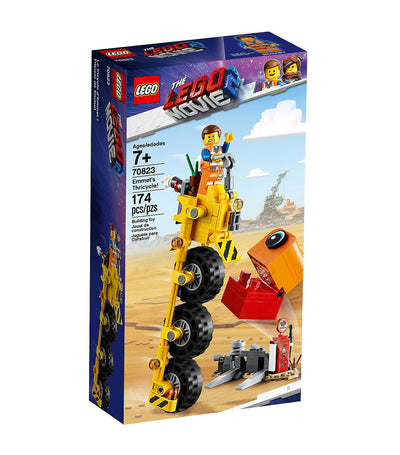 the lego® movie 2™ emmet's tricycle