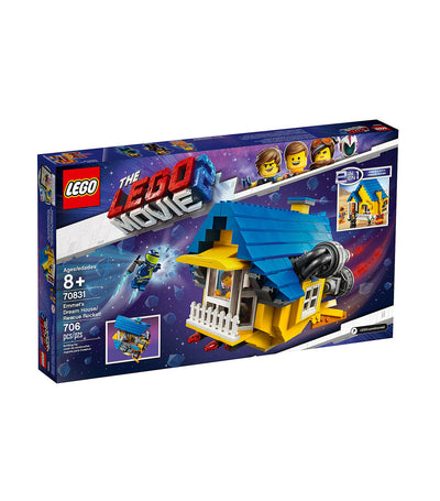 the lego® movie 2™ emmet's dream house/rescue rocket