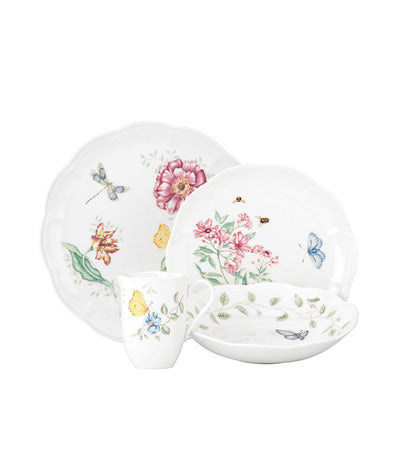 lenox butterfly meadow 4-piece place setting