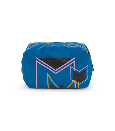 lesportsac arrow marker blue medium passerby cosmetic pouch