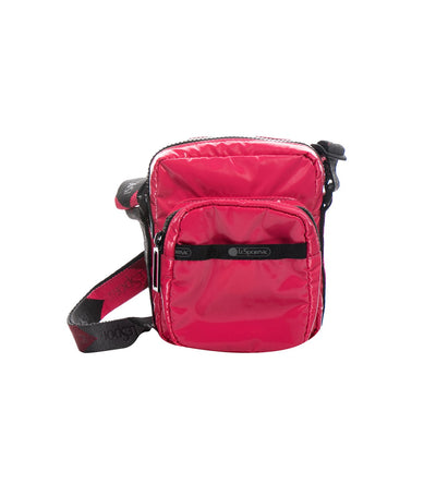 lesportsac rose arrow charlie crossbody bag