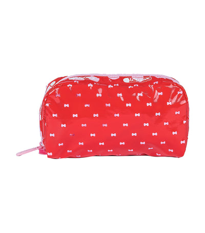 Hello Kitty x LeSportsac Rectangular Cosmetic in Hello Kitty Perf